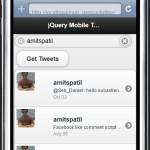 jQuery mobile app
